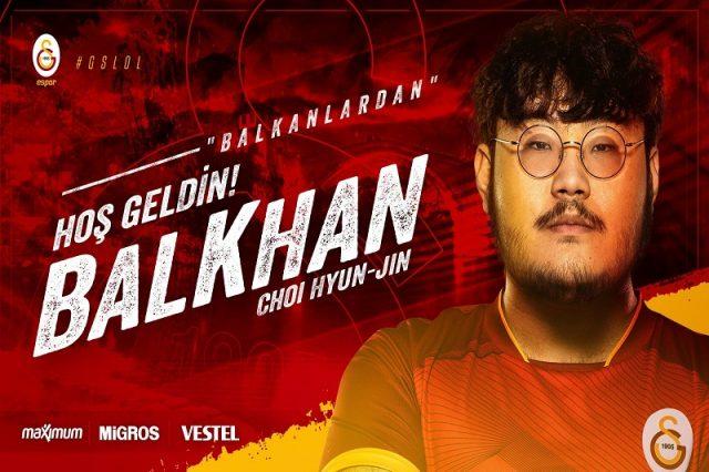 Balkhan Galatasaray Espor'a Transfer Oldu