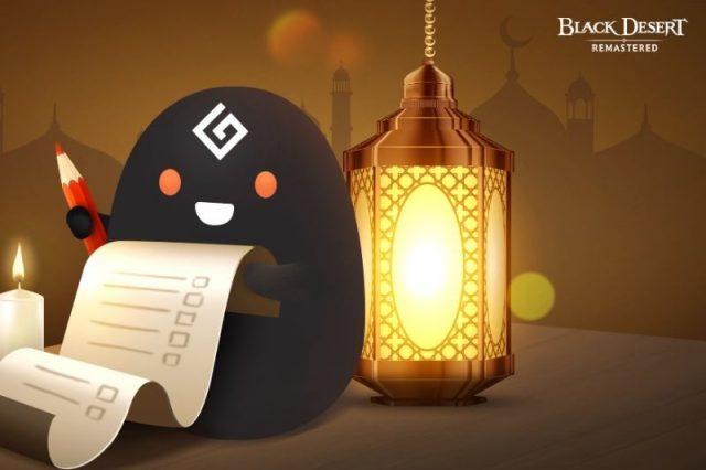 Gamer in tr-black-desert-turkiyemenada-ramazan-kutlamalari-devam-ediyor